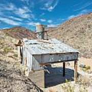 Old Mine On Old Toll Road In Death Valley Poster