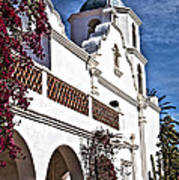 Old Mission San Luis Rey - California Poster