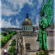Old Montreal Angel II Poster