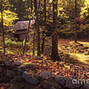 Old Mountain Shed Poster by Paul W Faust -  Impressions of Light
