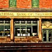 Old National Bank Of Thurmond Poster