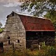Old Oak Barn Poster by Marty Koch