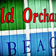 Old Orchard Beach Poster
