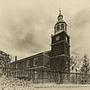 Old Otterbein Church Olde Tyme Photo Poster