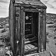 Old Outhouse Poster