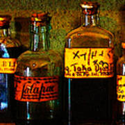 Old Pharmacy Bottles - 20130118 V1b Poster
