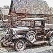 Old Pickup Truck Poster