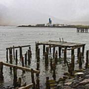 Old Pier In Siglufjordur Poster