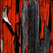 Old Red Barn Two 2 Poster
