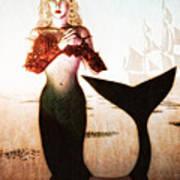 Old Sailors Dream - The Mermaid Poster