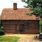 Winston-salem Nc - Old Salem Cottage Poster