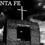 Old Santa Fe Poster