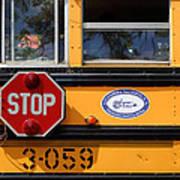 Old School Bus 1 Poster