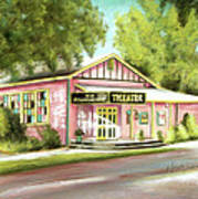 Old Schoolhouse Theater On Sanibel Island Poster