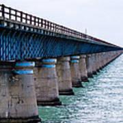 Old Seven Mile Bridge Poster