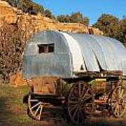 Old Sheepherder's Wagon Poster