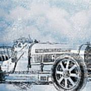 Old Sport Car Poster