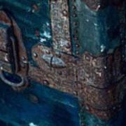 Old Steamer Trunk Poster