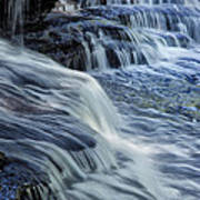 Old Stone Fort Waterfall Poster