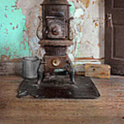 Old Stove Poster
