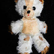Old Teddy Bear Pepi Poster