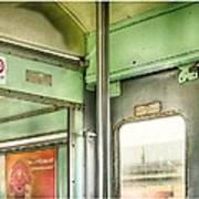 Old Thai Train Poster