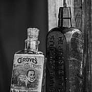 Old Time Tonics Poster