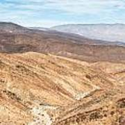 Old Toll Road Landscape In Death Valley Poster