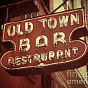 Old Town Bar - New York Poster