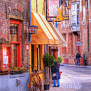 Old Town Bruges Belgium Poster