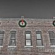 Old Town Christmas Poster by Baywest Imaging
