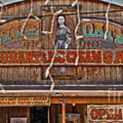 Old Town Saloon Poster