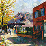 Old Town Sedona Poster