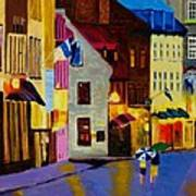 Old Towne Quebec Poster
