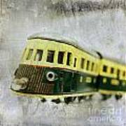 Old Toy-train Poster