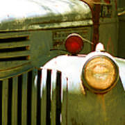 Old Truck Abstract Poster