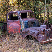 Old Truck - Purtis Creek Poster