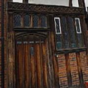 Old Tudor Doorway Poster
