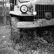 Old Vintage Dodge Work Truck Poster