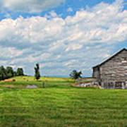 Old Virginia Barn Poster