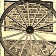 Old Wagon Wheel 1 Poster