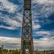Old Welland Lift Bridge 3d07057hp Poster