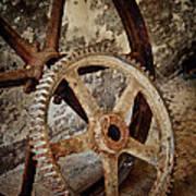 Old Wheels Poster by Odd Jeppesen