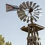 Old Windmill In Antique Color 3009.02 Poster