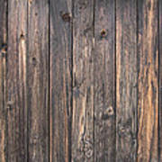 Old Wood Shack Exterior Background Poster
