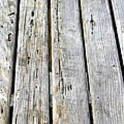 Old Wood Texture Poster