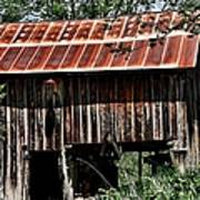 Old Wooden Barn Poster