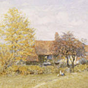 Old Wyldes Farm Poster by Helen Allingham