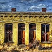 Old Yellow House In Buena Vista Poster