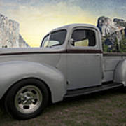 Older Classic Truck Poster